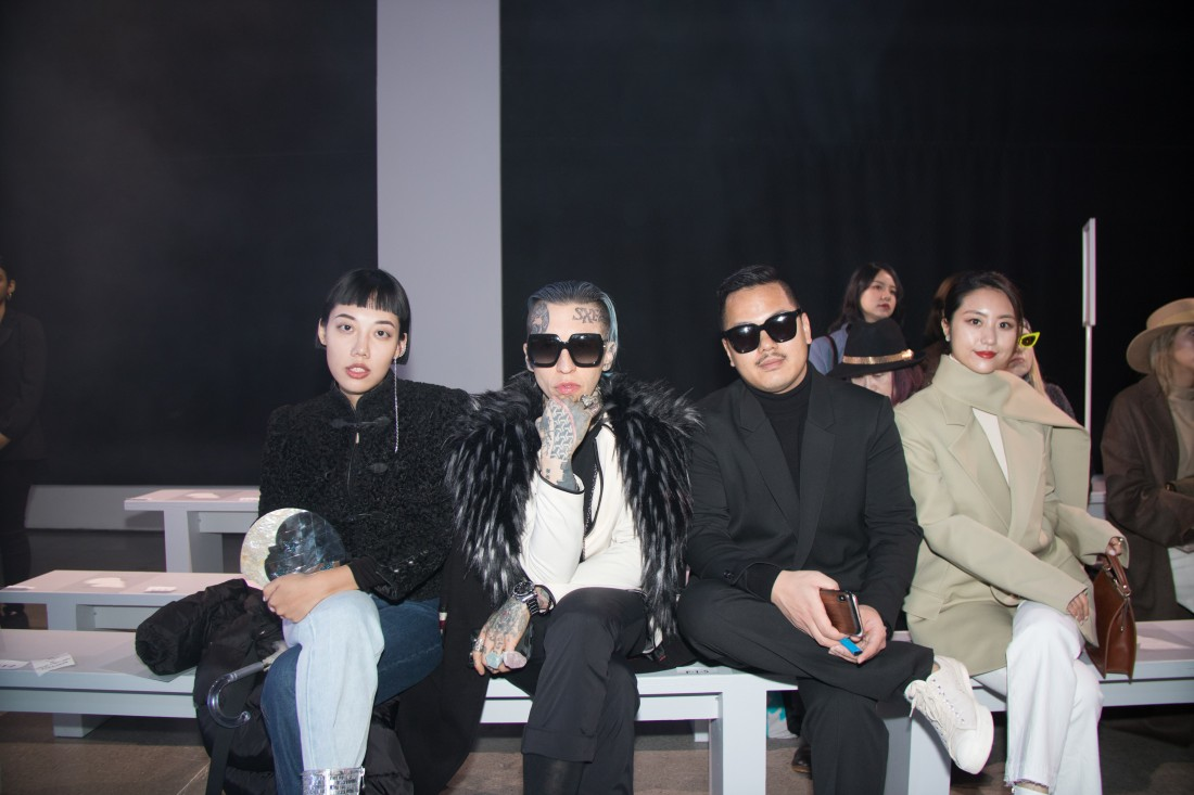 Front Row@Blancore NYFW FW2020 photo by Rudy K 3