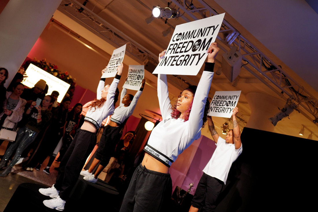 ROOTS x BOY MEETS GIRL® presentation hosted by Klarna STYLE360 at New York Fashion Week