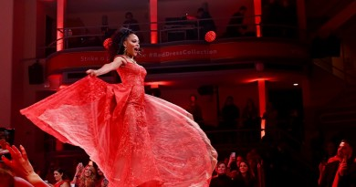 The American Heart Associations Go Red for Women Red Dress 2020 photo by Getty Images 3