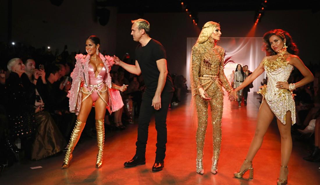 The Blonds NYFW FW2020 photo by Cheryl Gorski 94