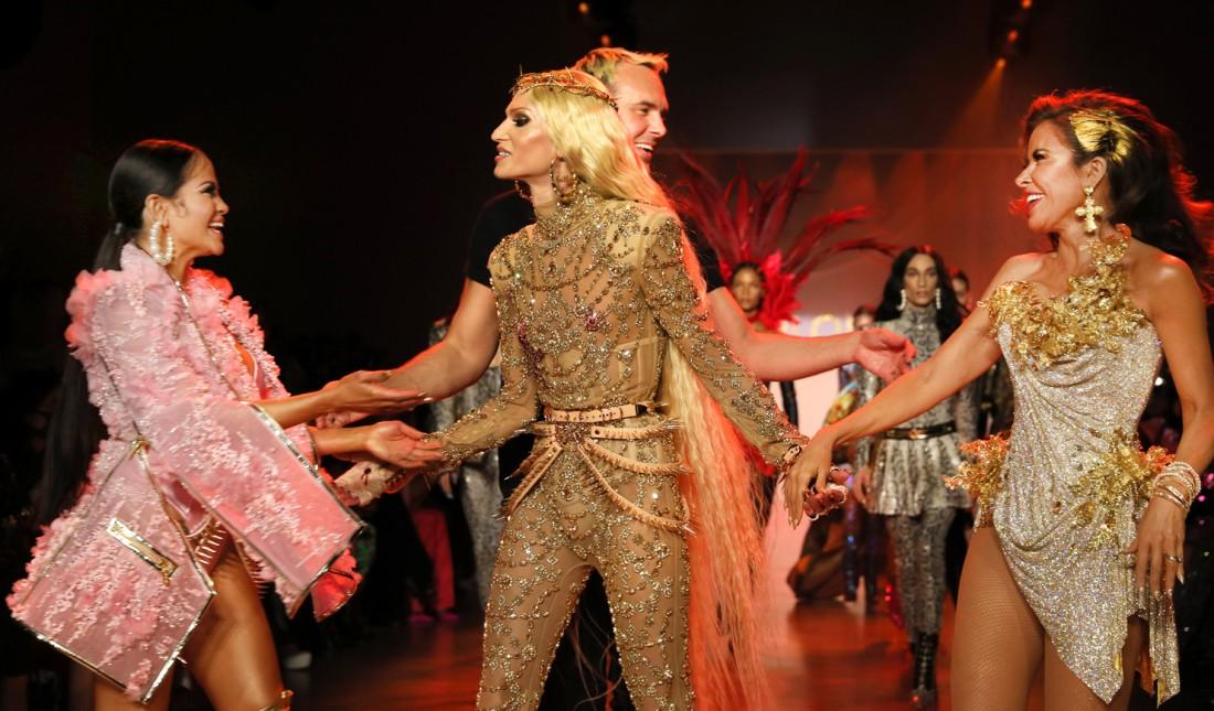 The Blonds NYFW FW2020 photo by Cheryl Gorski 98