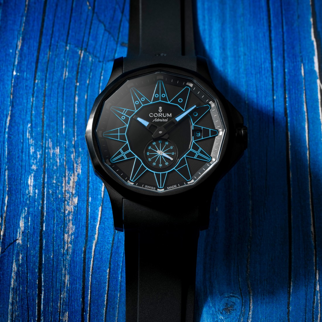 Corum Admiral 42 Automatic Blue A395 04004 lifestyle