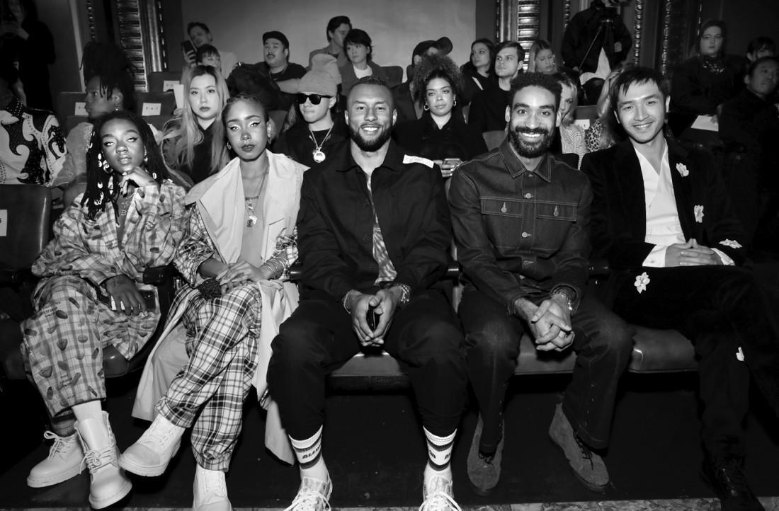 Front Row@N Hoolywood MENS NYFW FW2020 photo by Cheryl Gorski 19