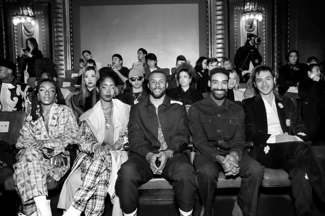 Front Row@N Hoolywood MENS NYFW FW2020 photo by Cheryl Gorski 20