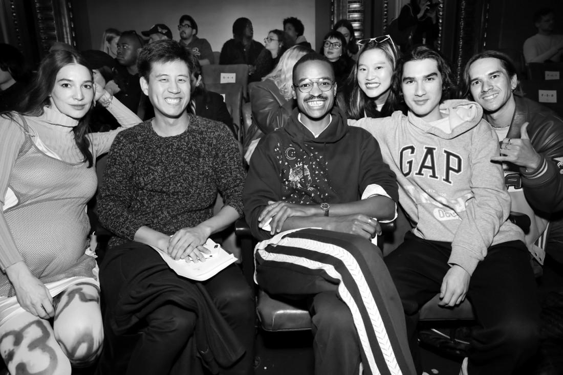 Front Row@N Hoolywood MENS NYFW FW2020 photo by Cheryl Gorski 21