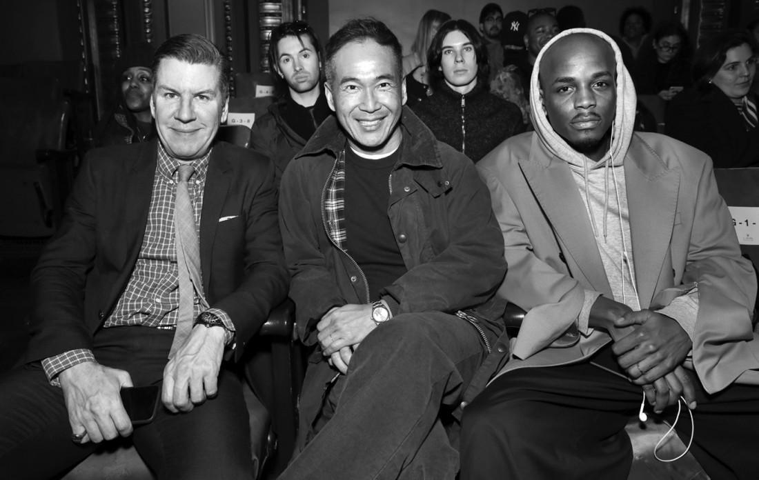 Front Row@N Hoolywood MENS NYFW FW2020 photo by Cheryl Gorski 23