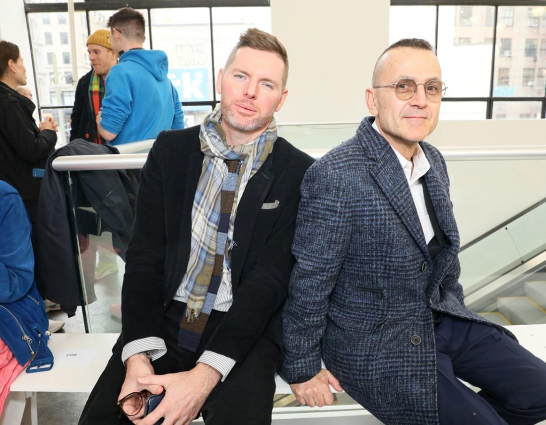 Front Row@ Kenneth Nicholson MENS NYFW FW2020 photos by Cheryl Gorski 1