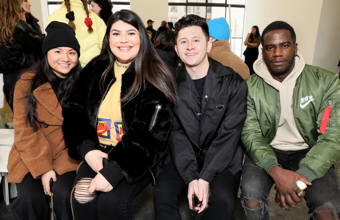 Front Row@ Kenneth Nicholson MENS NYFW FW2020 photos by Cheryl Gorski 15