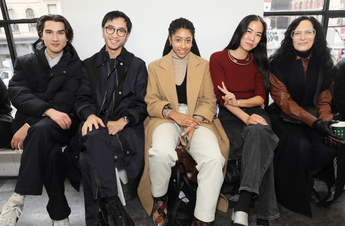 Front Row@ Kenneth Nicholson MENS NYFW FW2020 photos by Cheryl Gorski 16