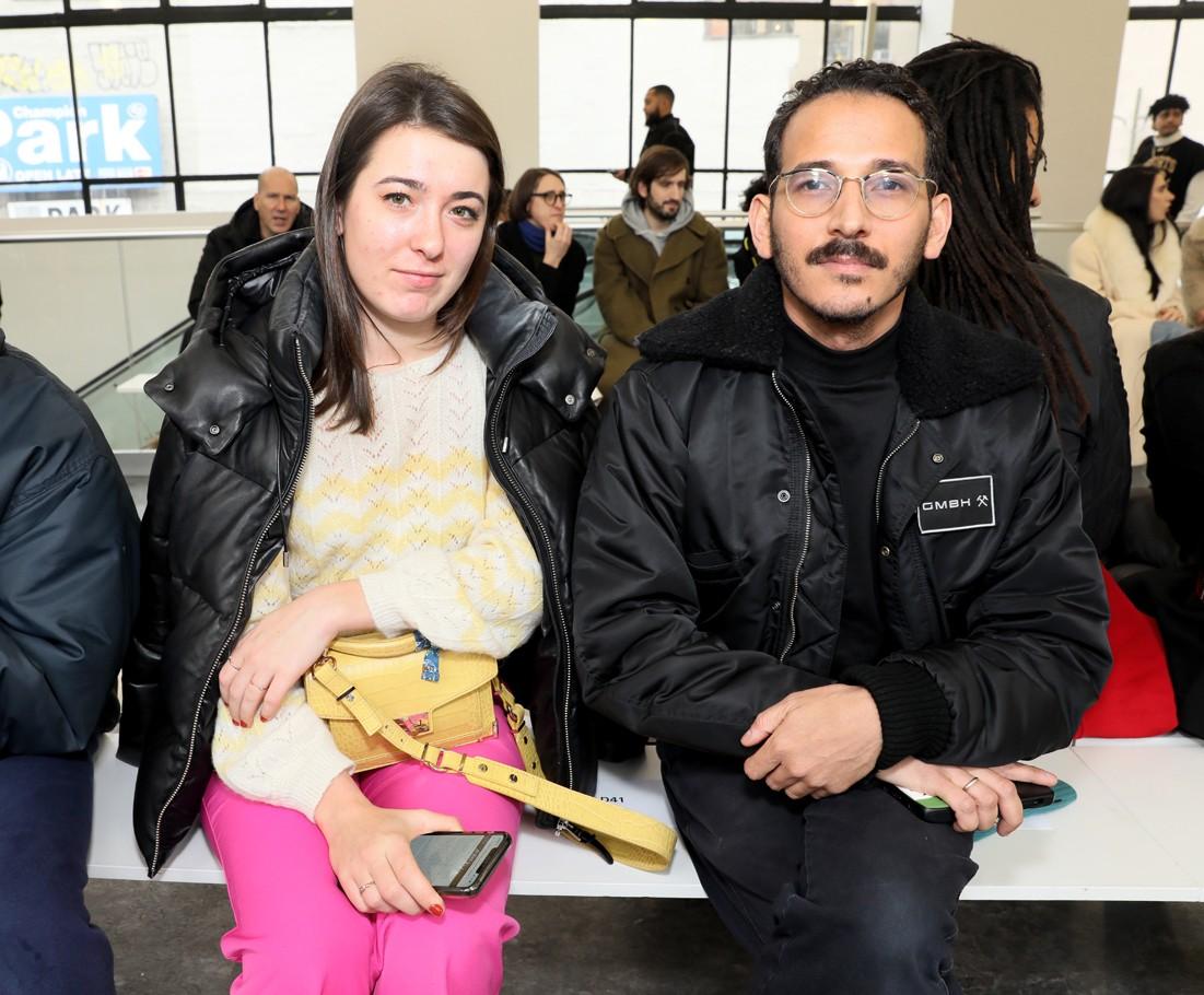 Front Row@ Kenneth Nicholson MENS NYFW FW2020 photos by Cheryl Gorski 21