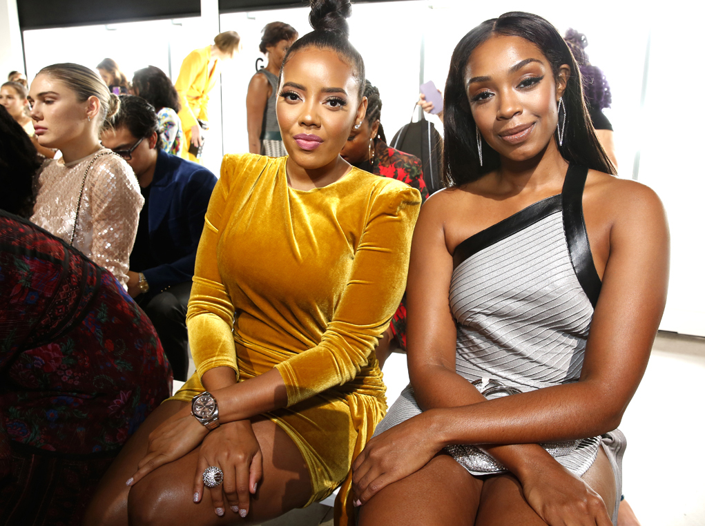 Angela Simmons Chantel Riley@Elie Tahari SS2020 photo by Cheryl Gorski 28