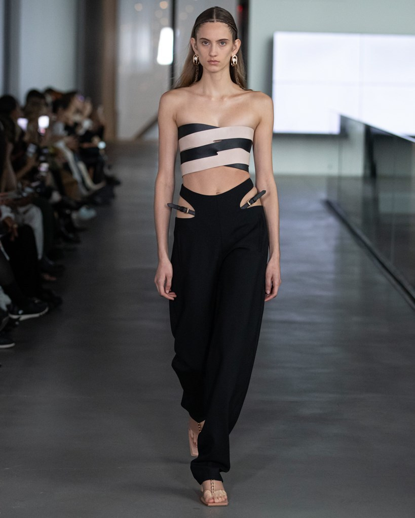 Dion Lee NYFW FW2020 photo by IMAXTRee 30