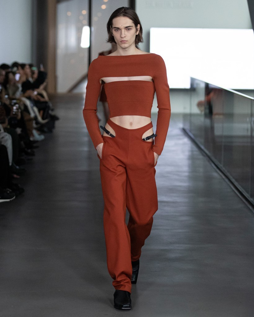 Dion Lee NYFW FW2020 photo by IMAXTRee 39
