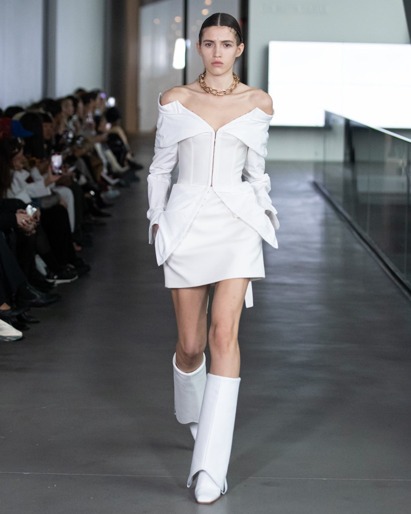 Dion Lee NYFW FW2020 photo by IMAXTRee 6