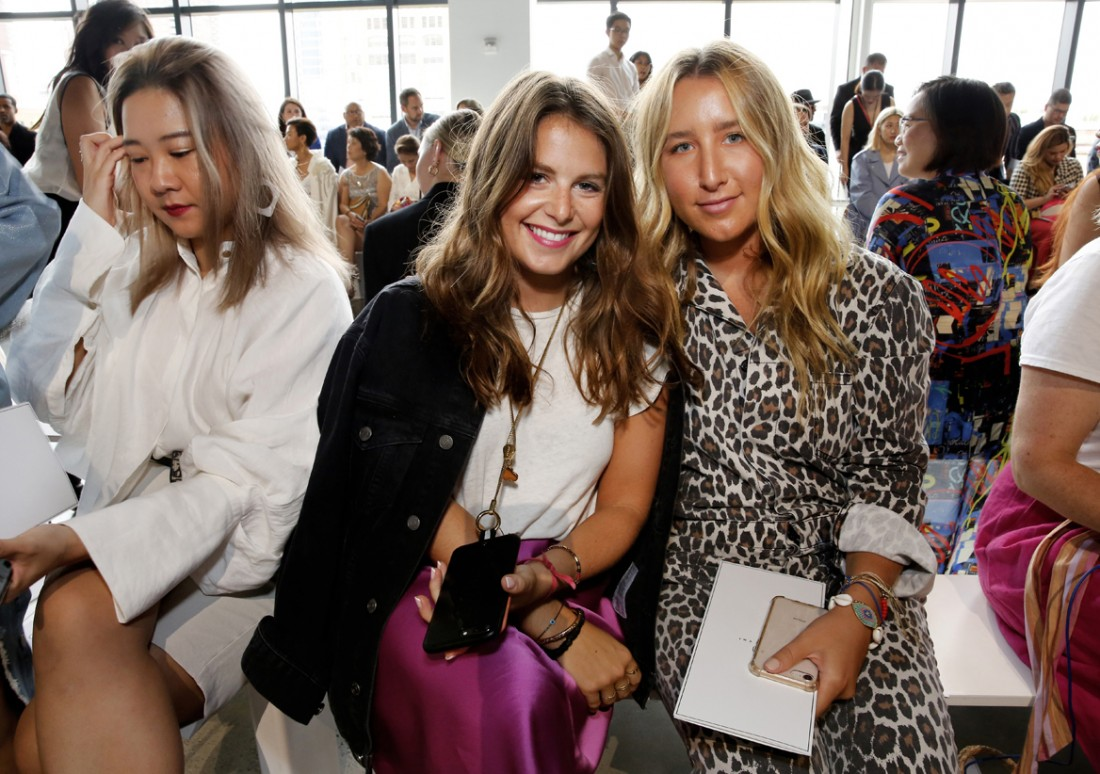 Front Row@ Cong Tri NYFW SS2020 photo by Cheryl Gorski 19