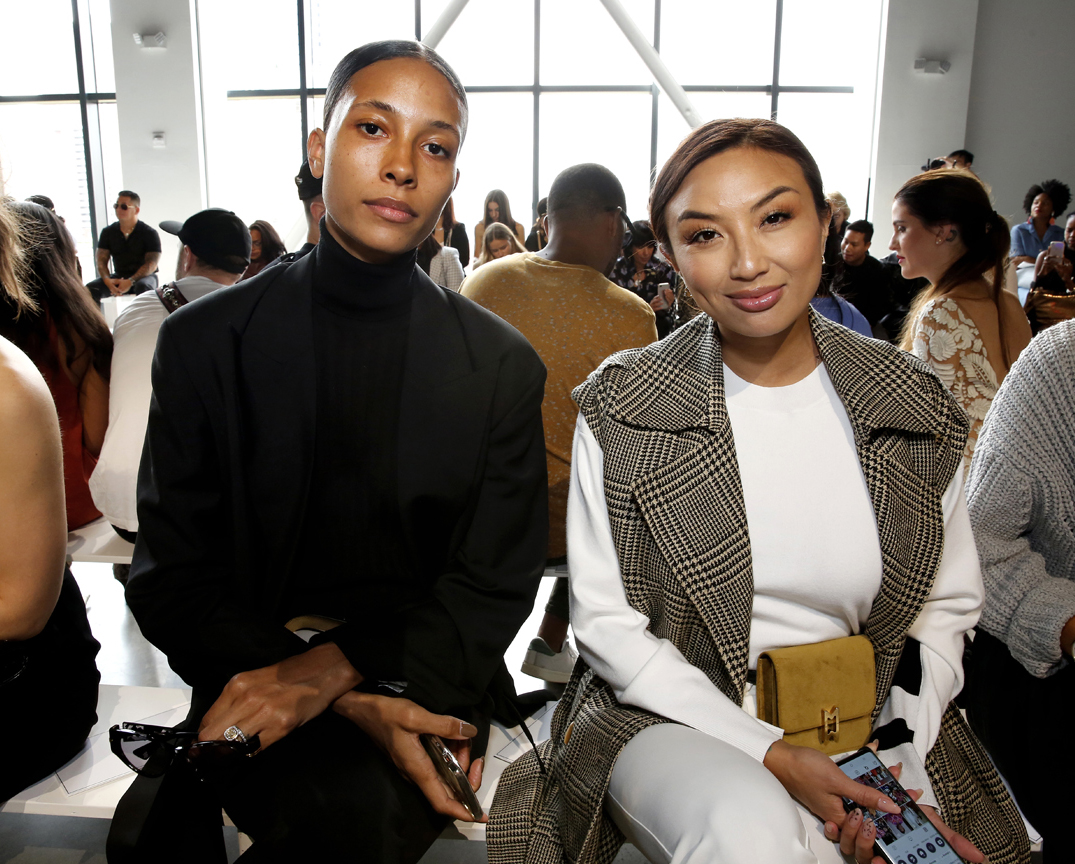 Front Row@ Cong Tri NYFW SS2020 photo by Cheryl Gorski 21