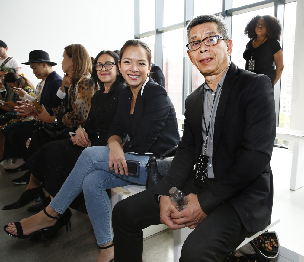 Front Row@ Cong Tri NYFW SS2020 photo by Cheryl Gorski 30