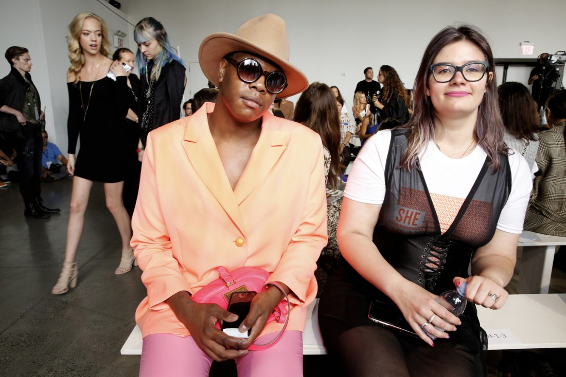 Front Row@ Cong Tri NYFW SS2020 photo by Cheryl Gorski 37