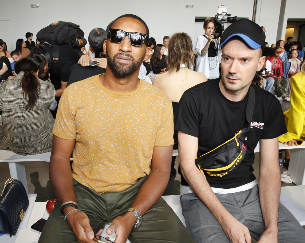 Front Row@ Cong Tri NYFW SS2020 photo by Cheryl Gorski 40