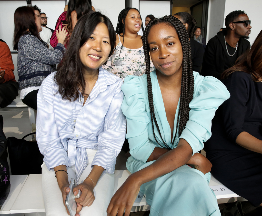 Front Row@ Cong Tri NYFW SS2020 photo by Cheryl Gorski 41