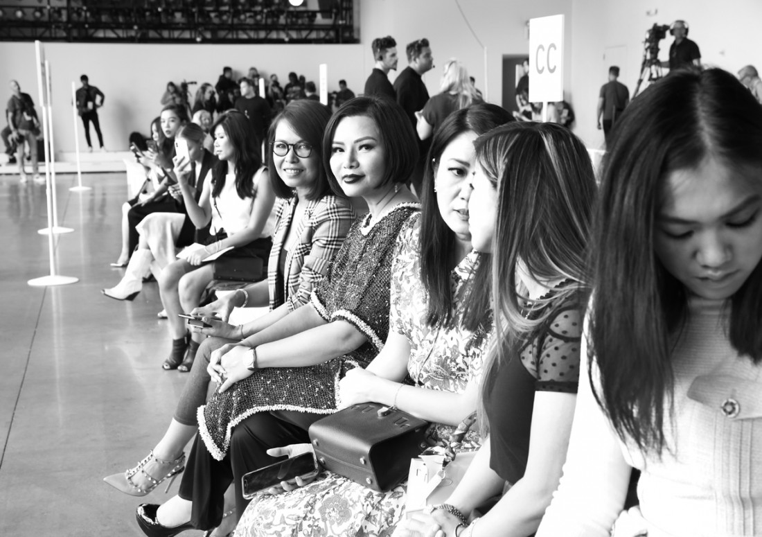 Front Row@ Cong Tri NYFW SS2020 photo by Cheryl Gorski 7
