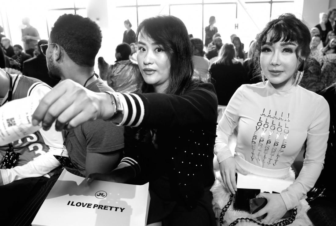 Front Row@ I Love Pretty NYFW SS2020 photo by Cheryl Gorski 51