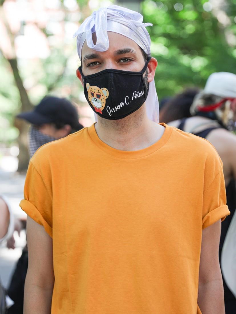 Jason C Peters Black Lives Matter Fashion Show NYC photo by Cj Rivera 1