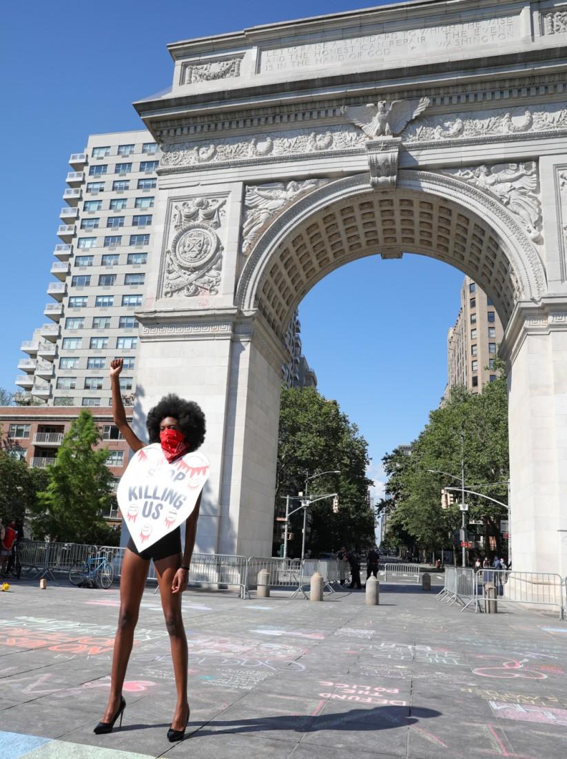 Jason C Peters Black Lives Matter Fashion Show NYC photo by Cj Rivera 10