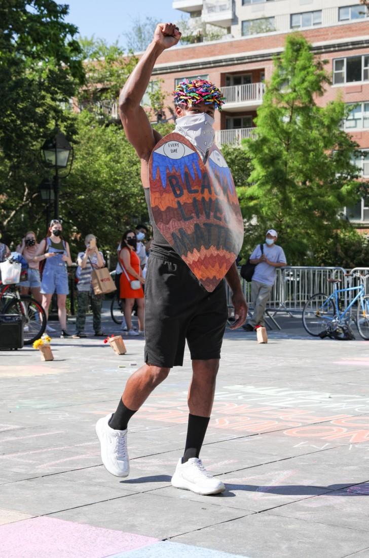 Jason C Peters Black Lives Matter Fashion Show NYC photo by Cj Rivera 11