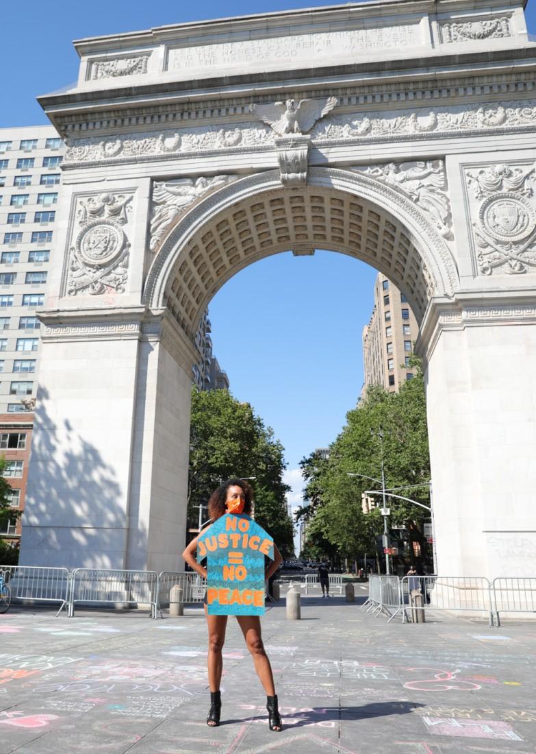 Jason C Peters Black Lives Matter Fashion Show NYC photo by Cj Rivera 12