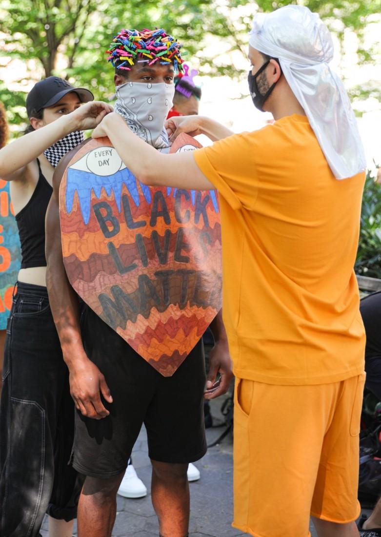Jason C Peters Black Lives Matter Fashion Show NYC photo by Cj Rivera 4 1