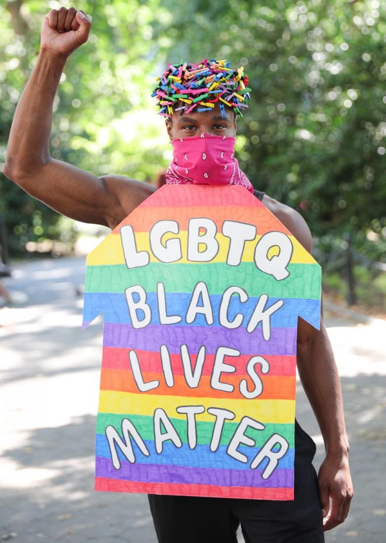 Jason C Peters Black Lives Matter Fashion Show NYC photo by Cj Rivera 7