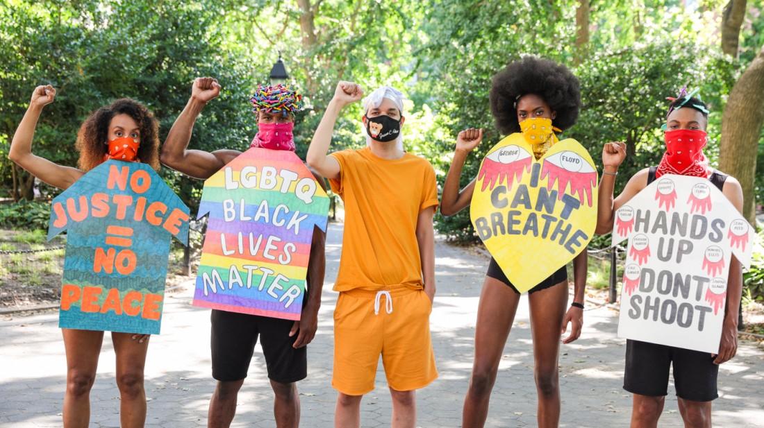 Jason C Peters Black Lives Matter Fashion Show NYC photo by Cj Rivera 9