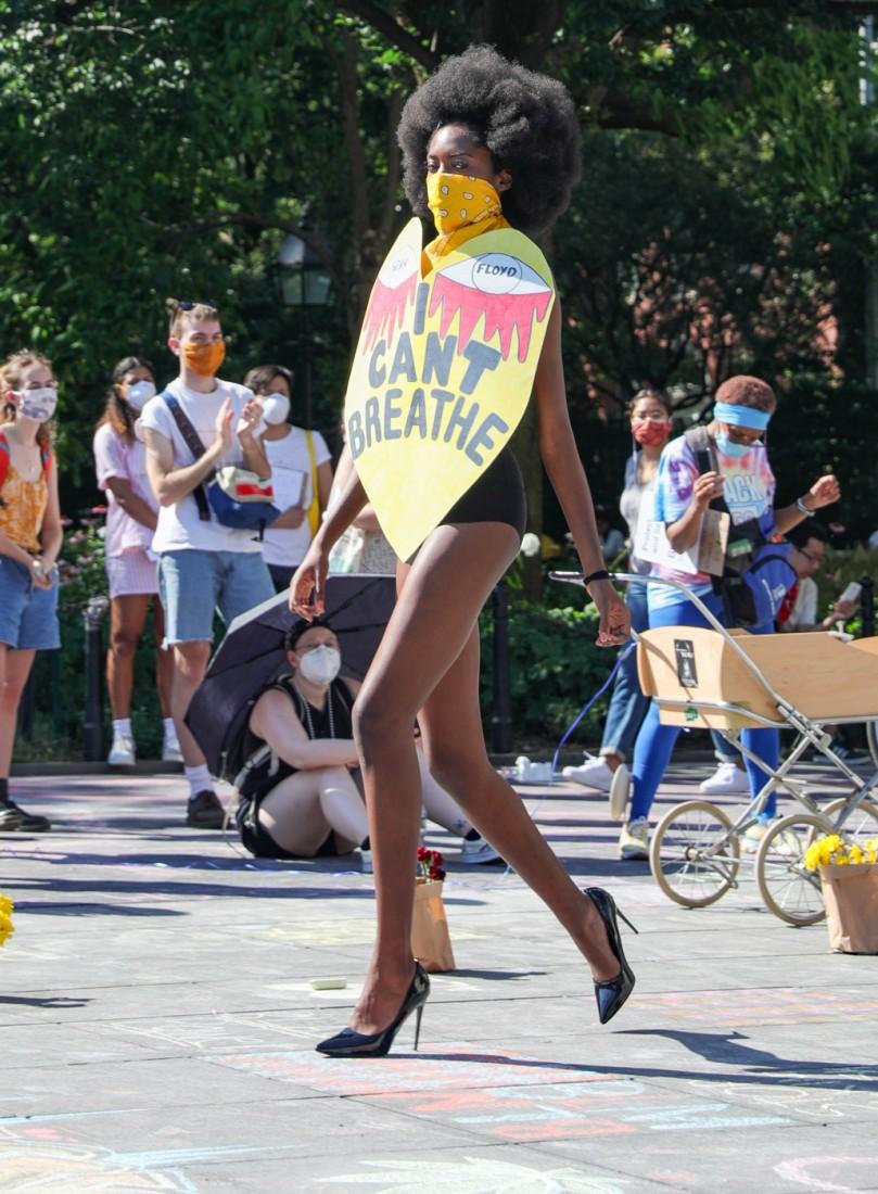 Jason C Peters Black Lives Matter Fashion Show NYC photo by Cj Rivera 9a
