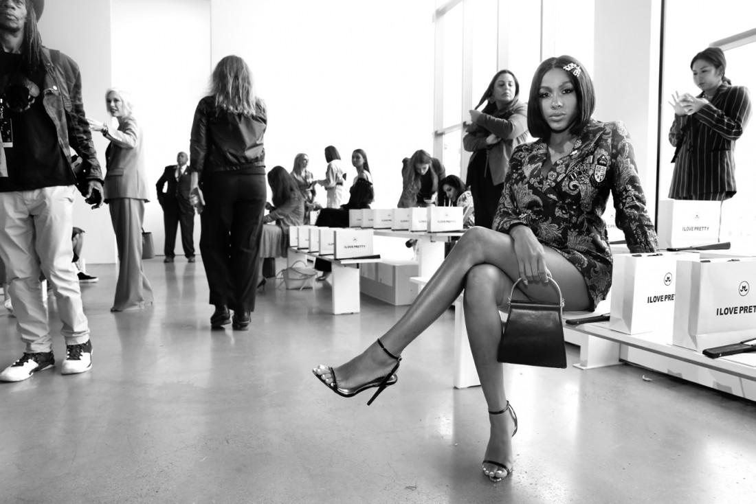 Jayla Kooryan@ I Love Pretty NYFW SS2020 photo by Cheryl Gorski 2