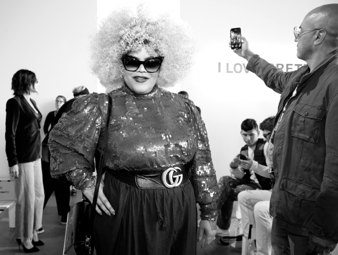 Mari Burelle@ I Love Pretty NYFW SS2020 photo by Cheryl Gorski 20