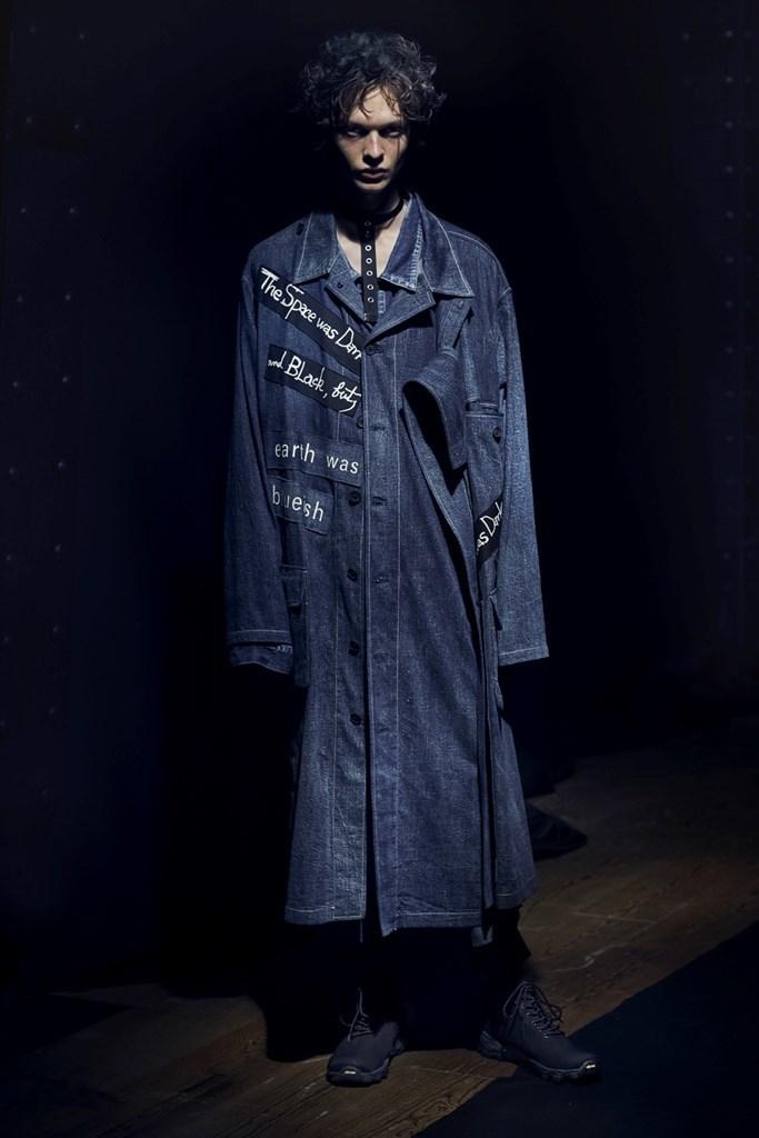Yohji Yamamoto Paris SS2021 photo by IMAXTree 21