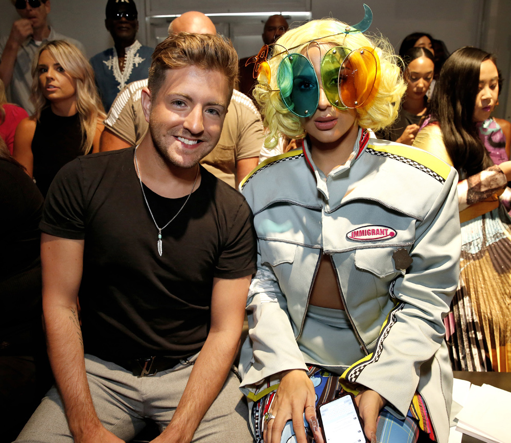 Billy GilmanVeronica Vega@ Laurence Chico NYFW SS2020 photo by Cheryl Gorski 40