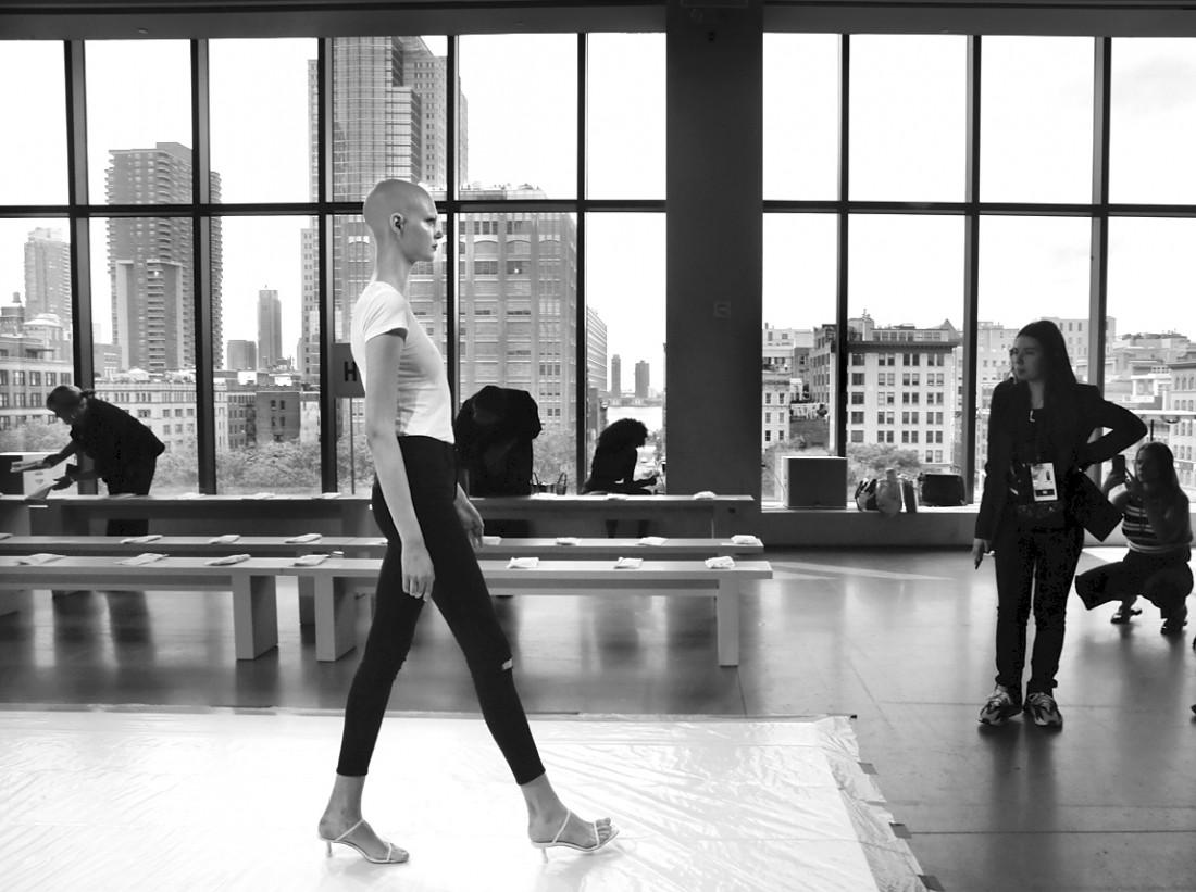 Rehearsal@Three gun NYFW SS2020 photo by Cheryl Gorski 9