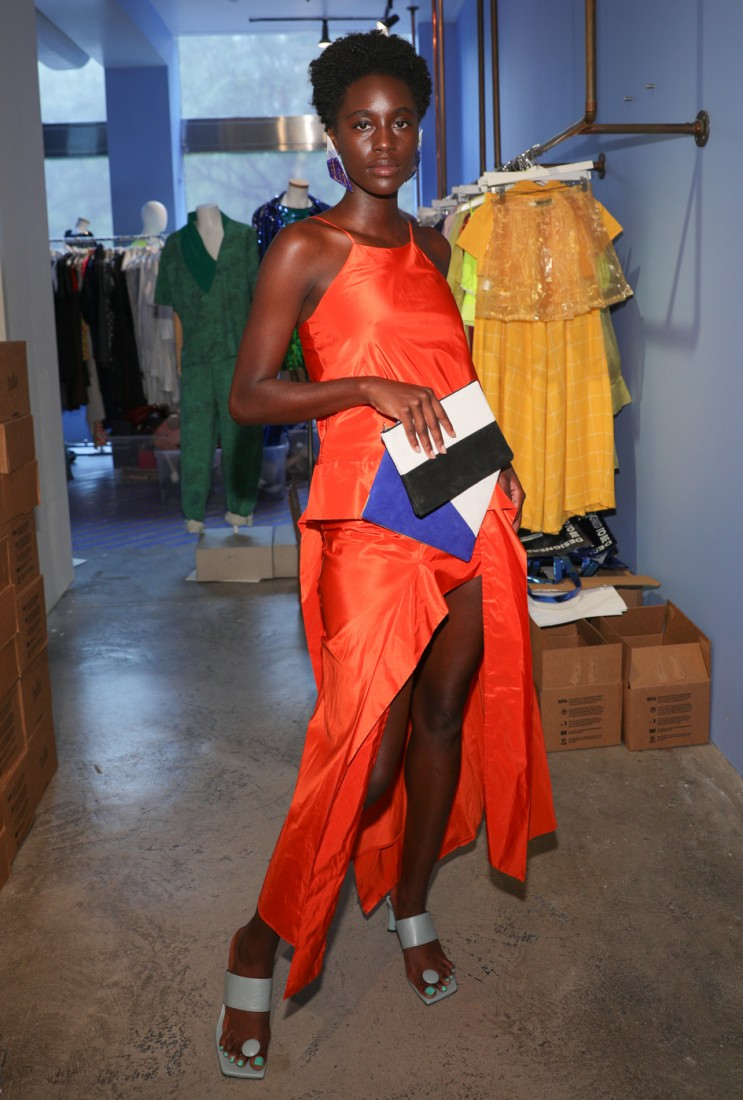 First Looks@ Flying Solo NYFW SS2021 photo by CJ Rivera 12