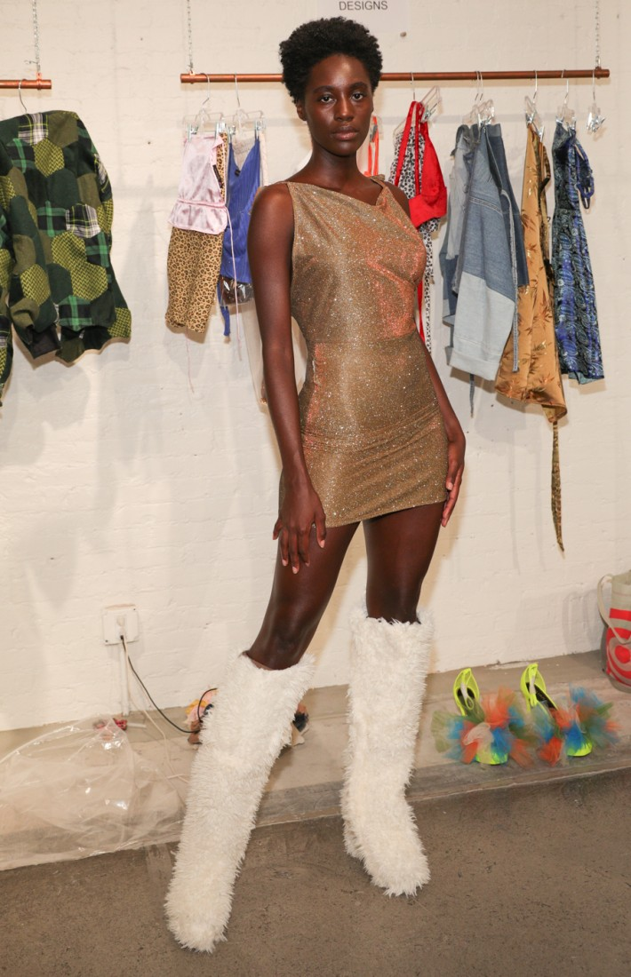 First Looks@ Flying Solo NYFW SS2021 photo by CJ Rivera 13
