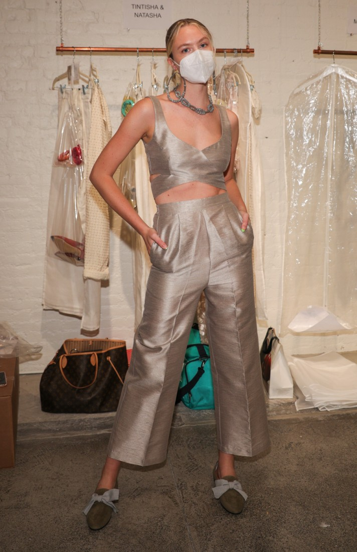 First Looks@ Flying Solo NYFW SS2021 photo by CJ Rivera 14