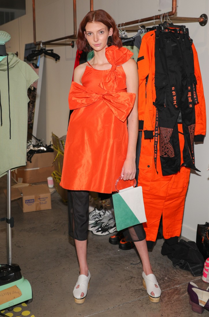 First Looks@ Flying Solo NYFW SS2021 photo by CJ Rivera 15