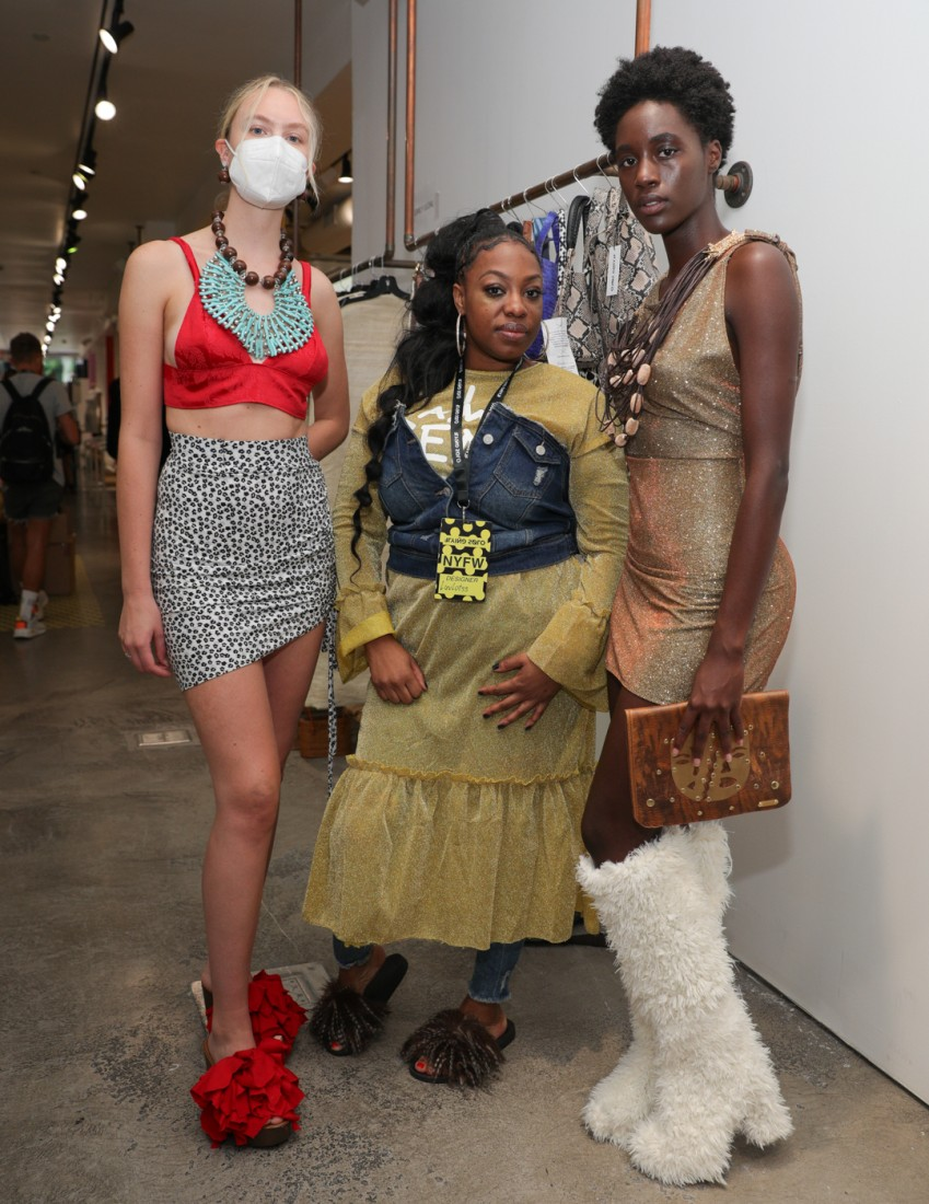 First Looks@ Flying Solo NYFW SS2021 photo by CJ Rivera 17