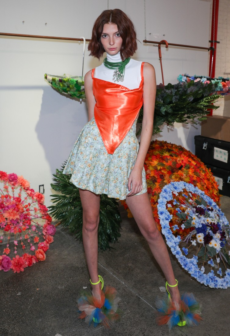 First Looks@ Flying Solo NYFW SS2021 photo by CJ Rivera 21