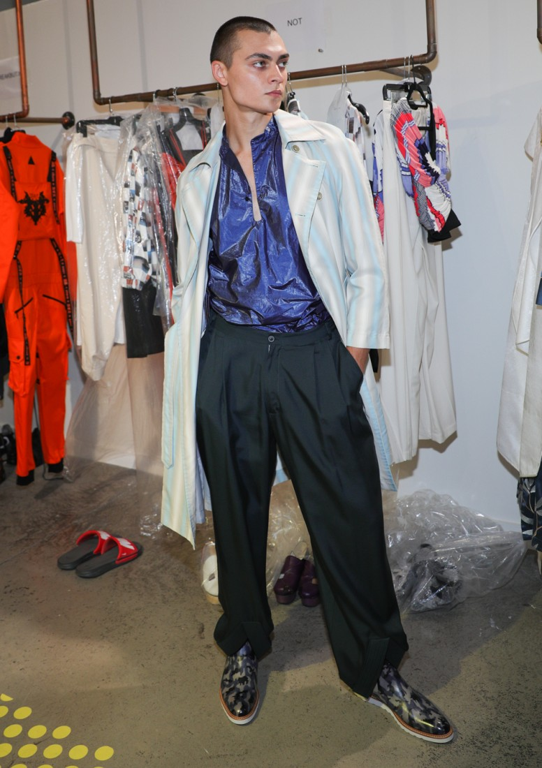 First Looks@ Flying Solo NYFW SS2021 photo by CJ Rivera 23