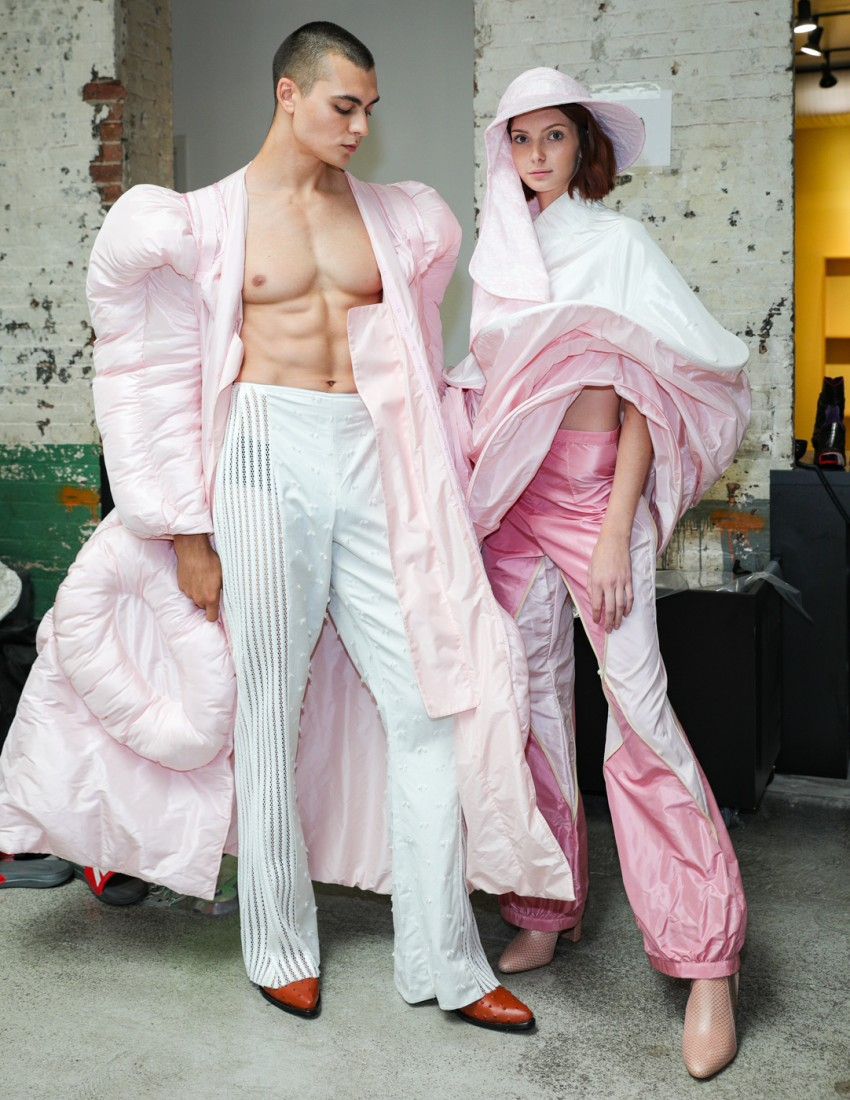 First Looks@ Flying Solo NYFW SS2021 photo by CJ Rivera 29