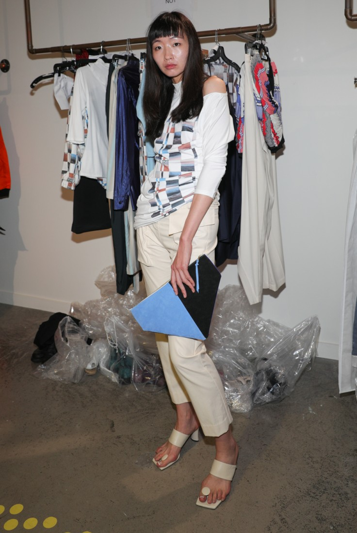 First Looks@ Flying Solo NYFW SS2021 photo by CJ Rivera 3