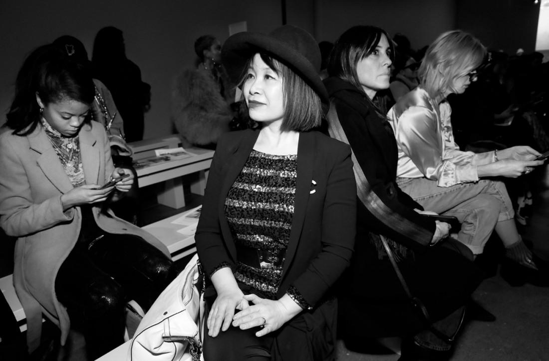 Front Row@Fe Noel NYFW FW2020 photo by Cheryl Gorski 18