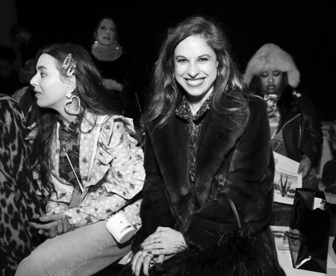 Front Row@Fe Noel NYFW FW2020 photo by Cheryl Gorski 24